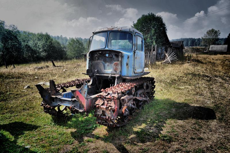 Hdr трактор