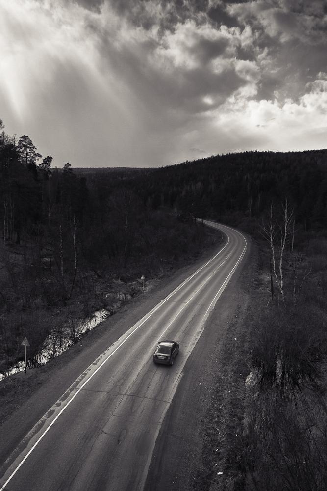 дорога в г.Бакал