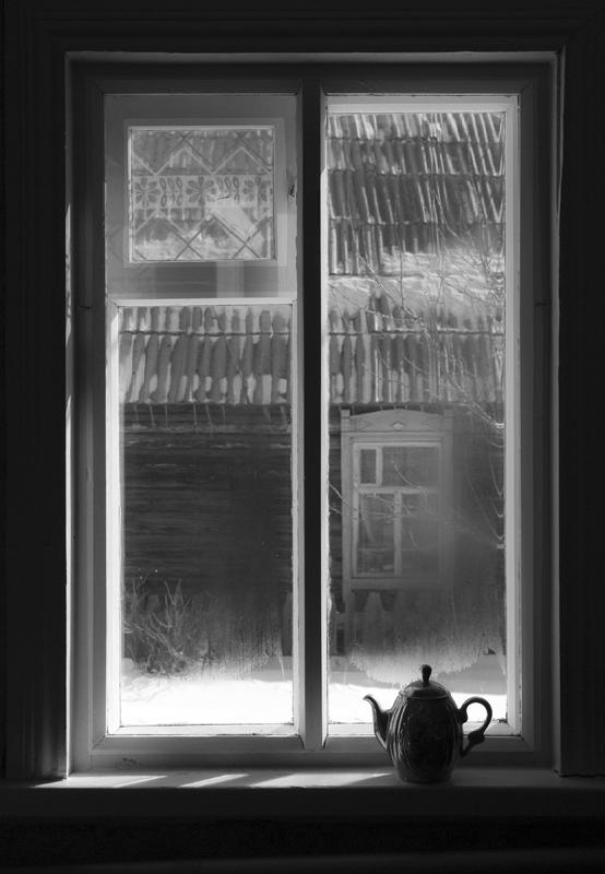 Счастливое зимнее утро