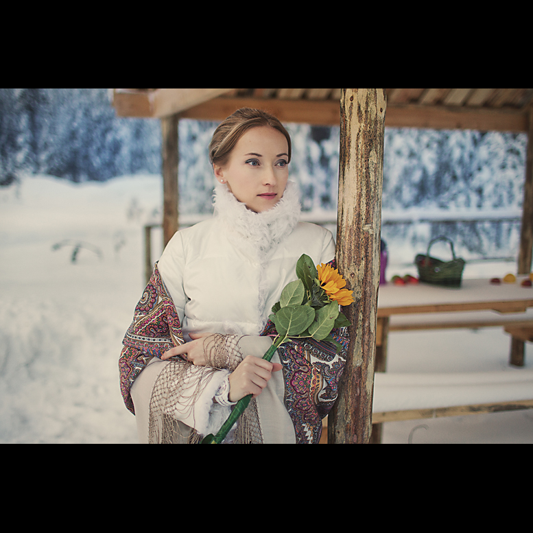Валентина. Зима. Югорск