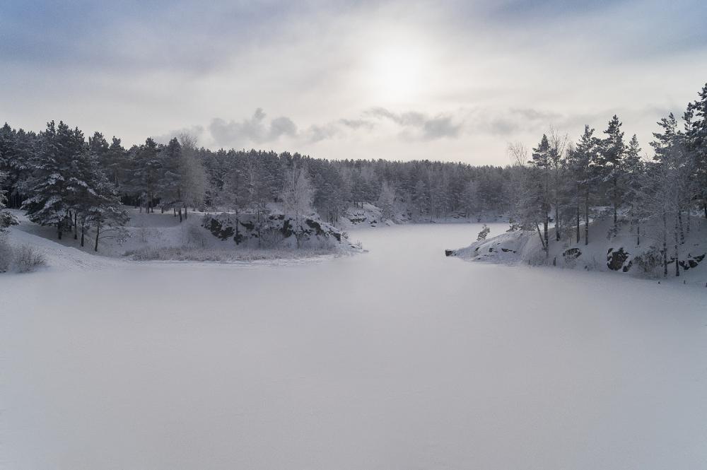 Зимний карьер 2